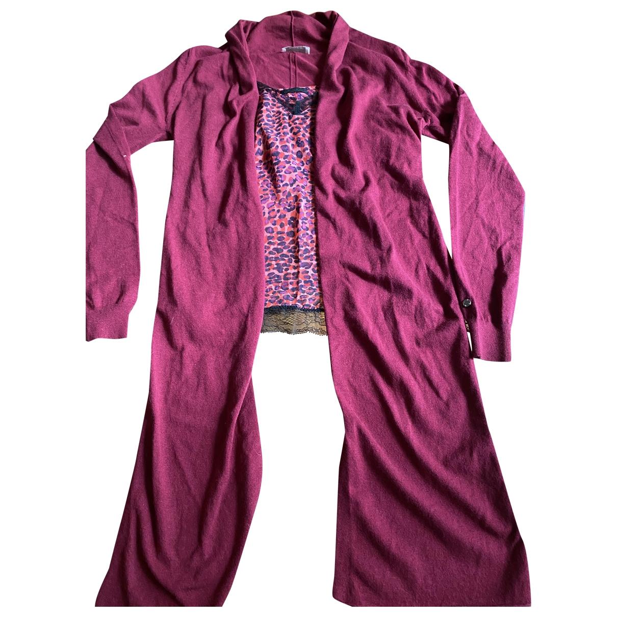 Pinko \N Burgundy Silk Knitwear for Women 42 IT