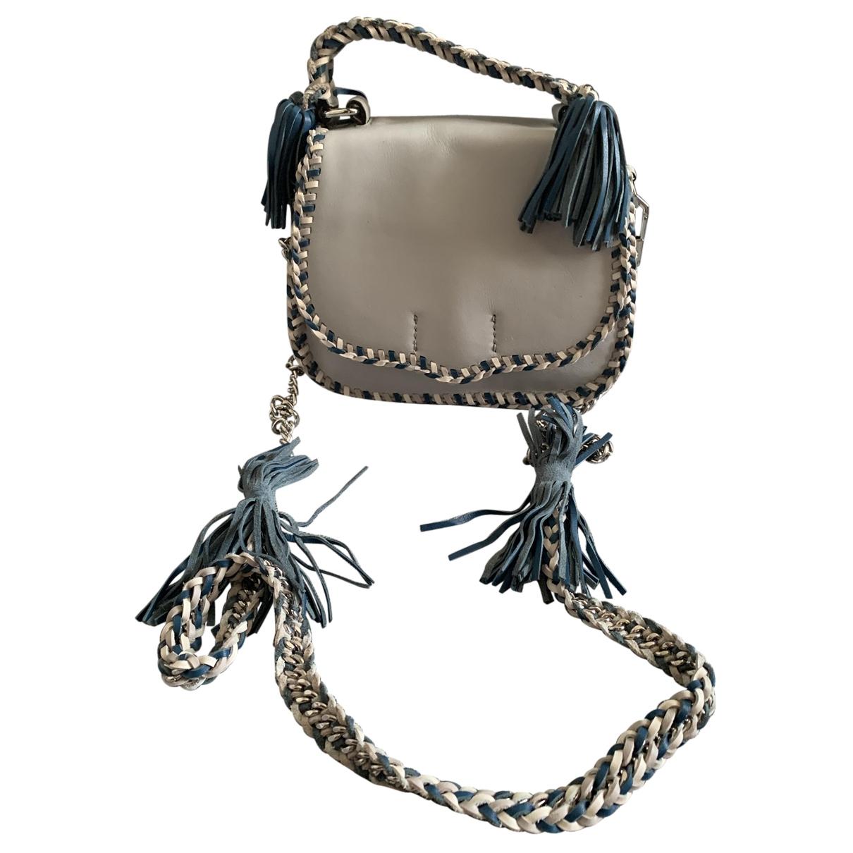 Rebecca Minkoff \N Handtasche in  Blau Veloursleder