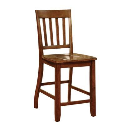 BM131272 Foster II Transitional Counter Height Chair  Dark Oak Finish  Set Of