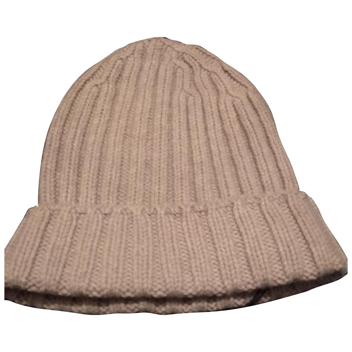 Eleventy - Chapeau & Bonnets   pour homme en laine - beige