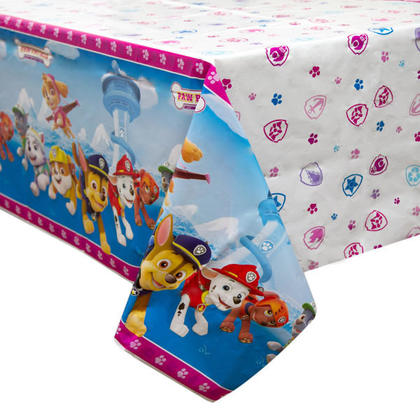 Paw Patrol Girl 1 Plastic Tablecover 54
