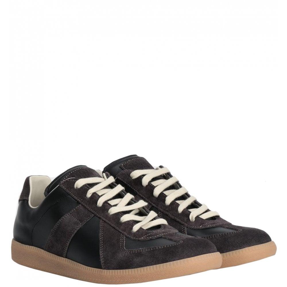Maison Margiela Replica Trainers Colour: BLACK, Size: 7