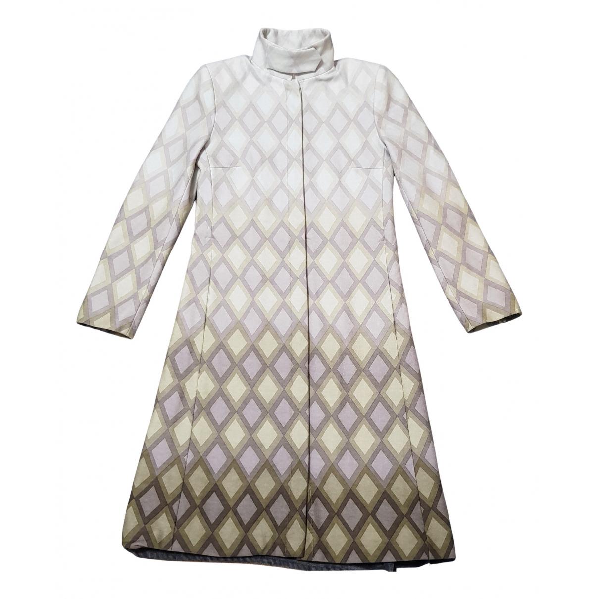 Chloe - Veste   pour femme en laine - beige
