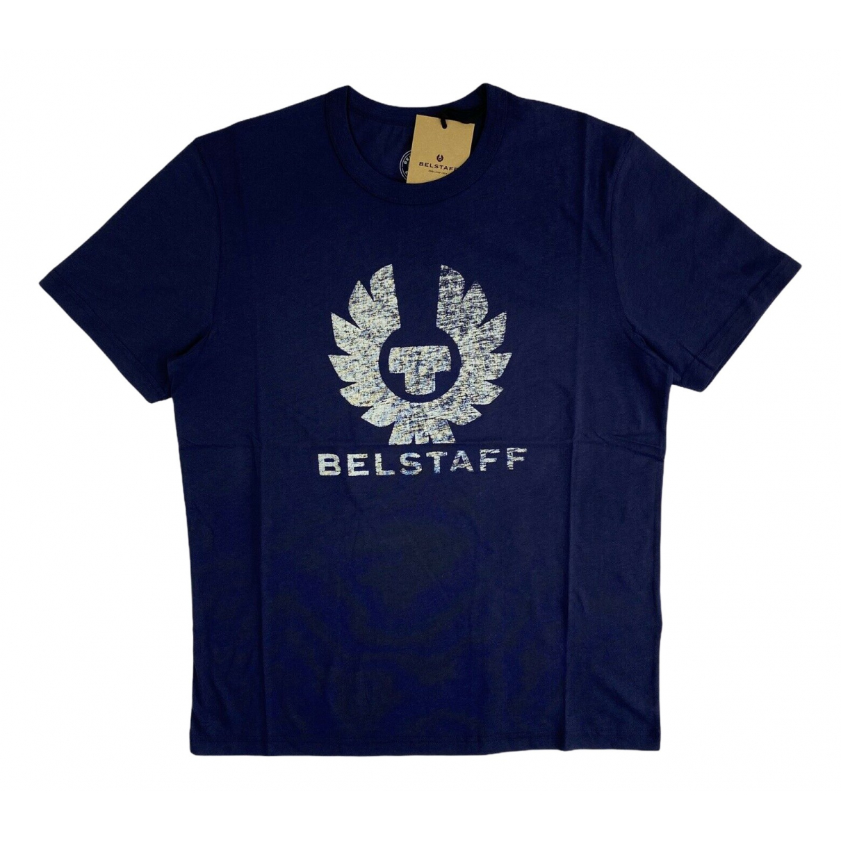 Belstaff N Blue Cotton T-shirts for Men L International