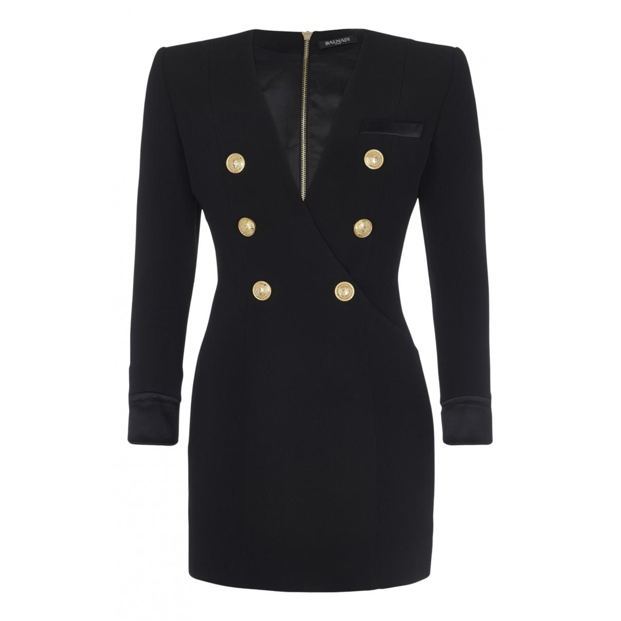 Balmain N Black dress for Women 10 UK