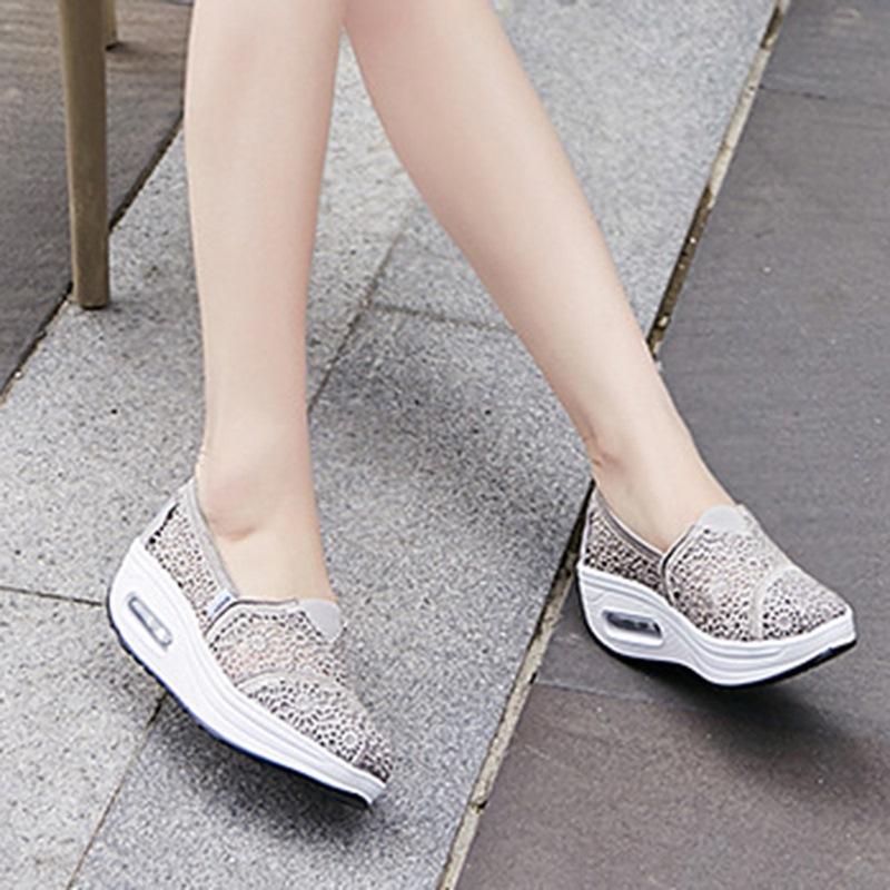 Ericdress Low-Cut Upper Platform Round Toe Casual Sneakers