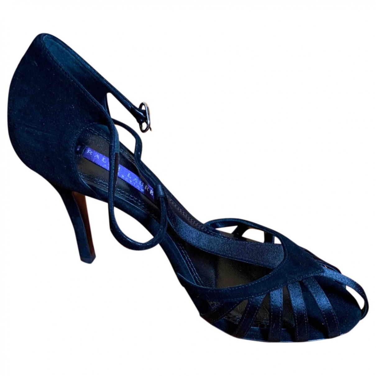 Ralph Lauren - Escarpins   pour femme en toile - noir