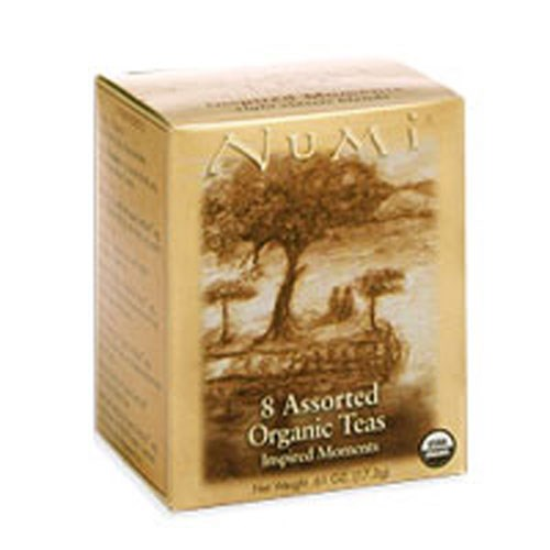 Inspired Moments Traditional Blends Samplers 8 bags by Numi Tea