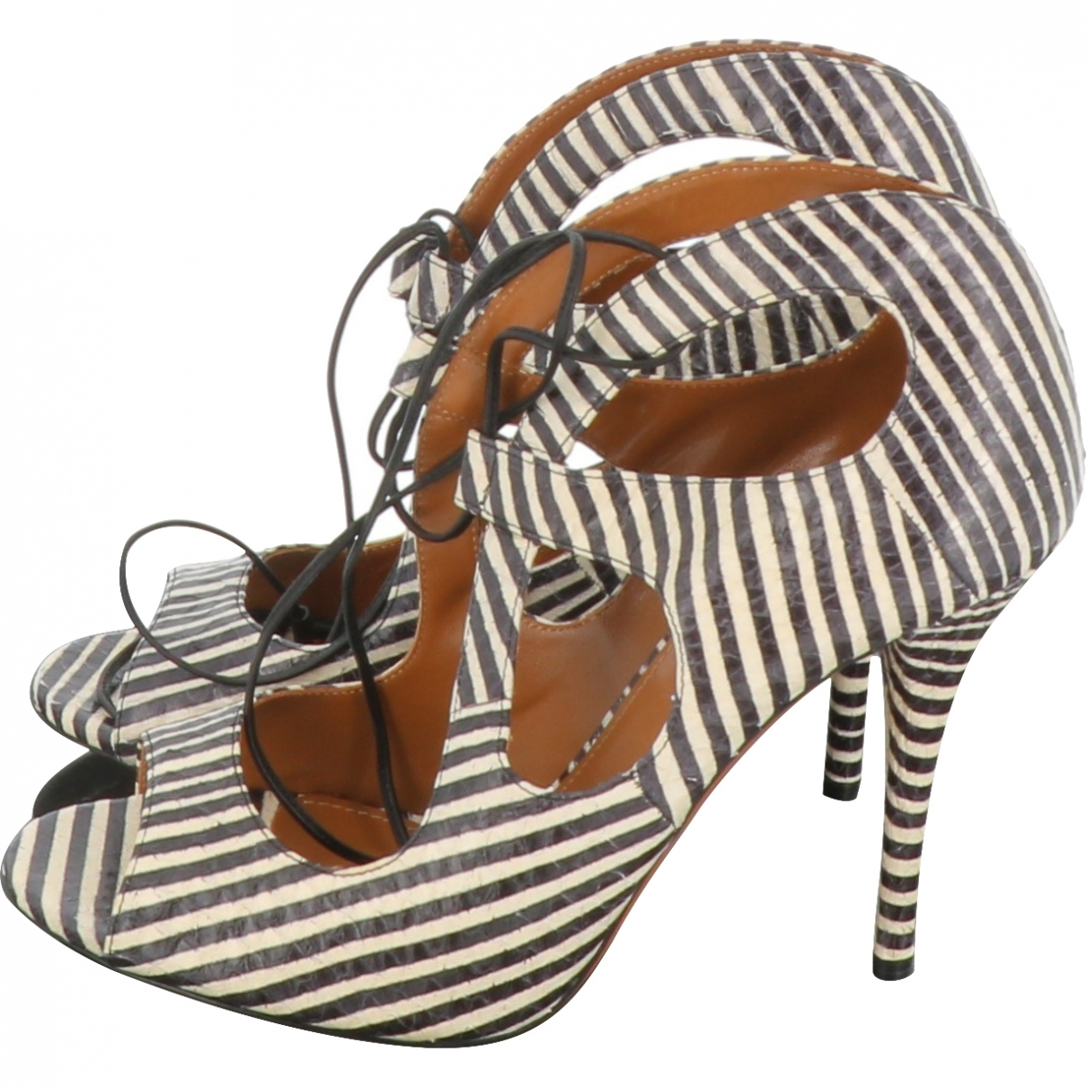 Aquazzura \N Leather Heels for Women 39 EU