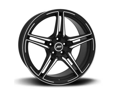 ABT FFRC2210301266-02 Sportsline FR22 Mystic Black Wheel Set 22x10 5x112 30mm Audi Q7 2017-2019