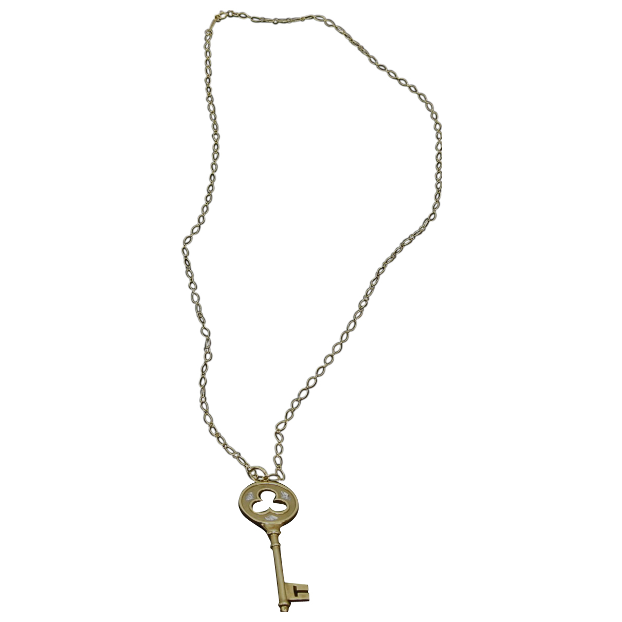 Tiffany & Co Clés Tiffany Yellow gold pendant for Women N
