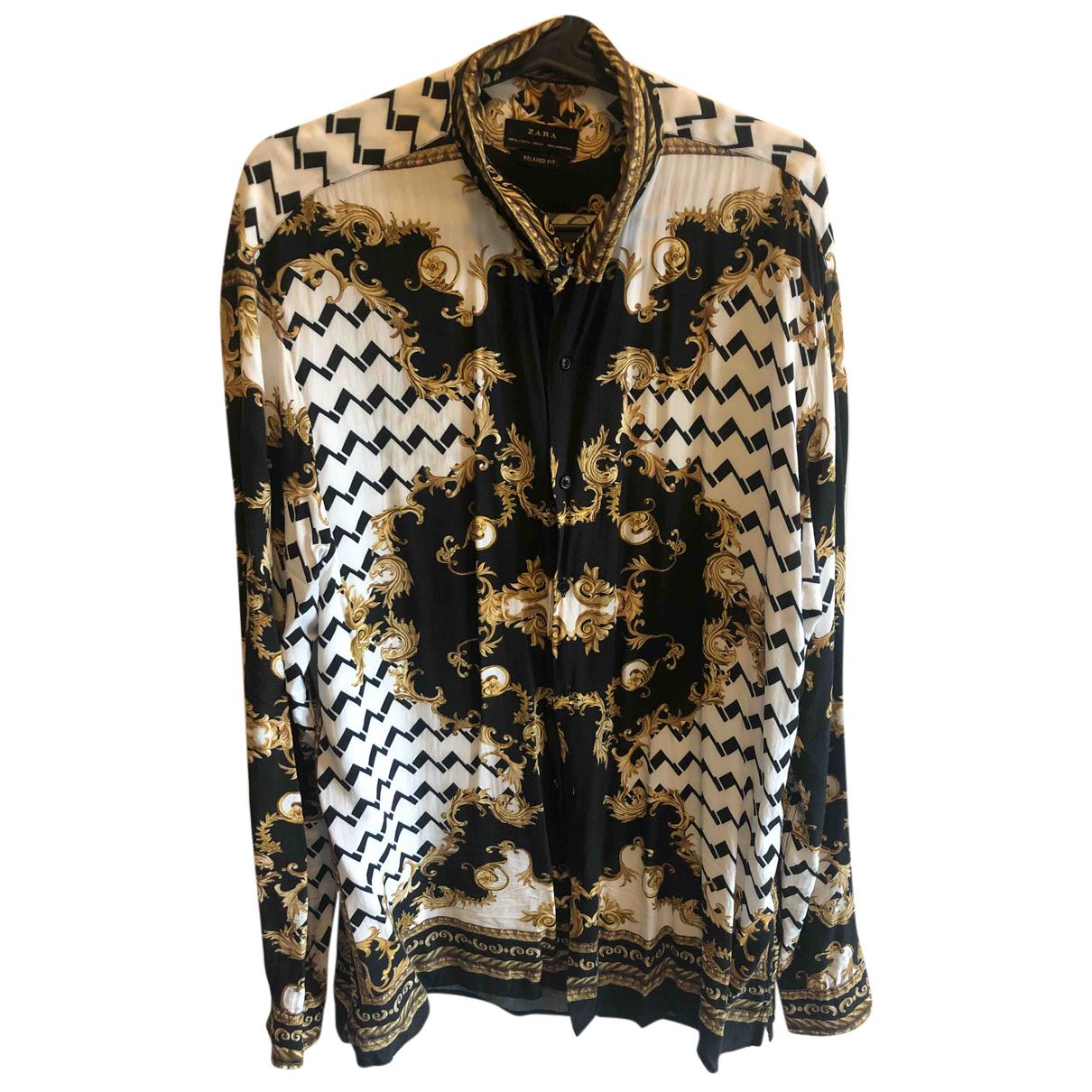 Zara \N Hemden in Viskose