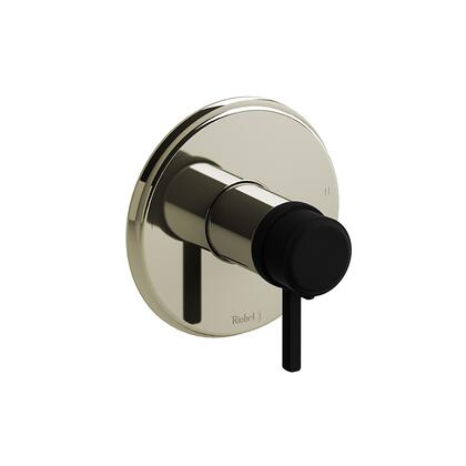 Momenti MMRD44LPNBK-SPEX 2-Way No Share Thermostatic/Pressure Balance Coaxial Complete Valve Pex with Lever Handles  in Polished