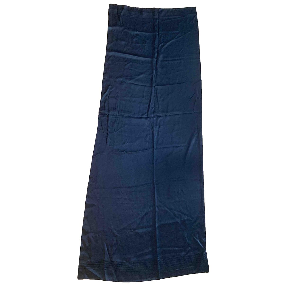 Yves Saint Laurent - Cheches.Echarpes   pour homme en soie - noir