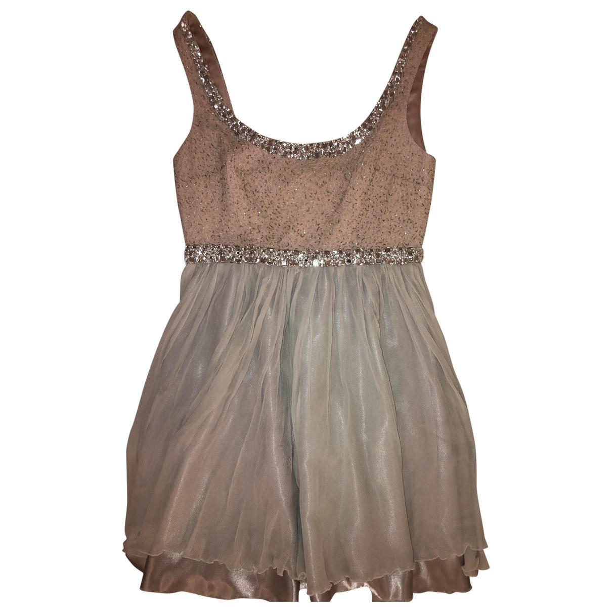 Marchesa Notte \N Pink Silk dress for Women 6 US
