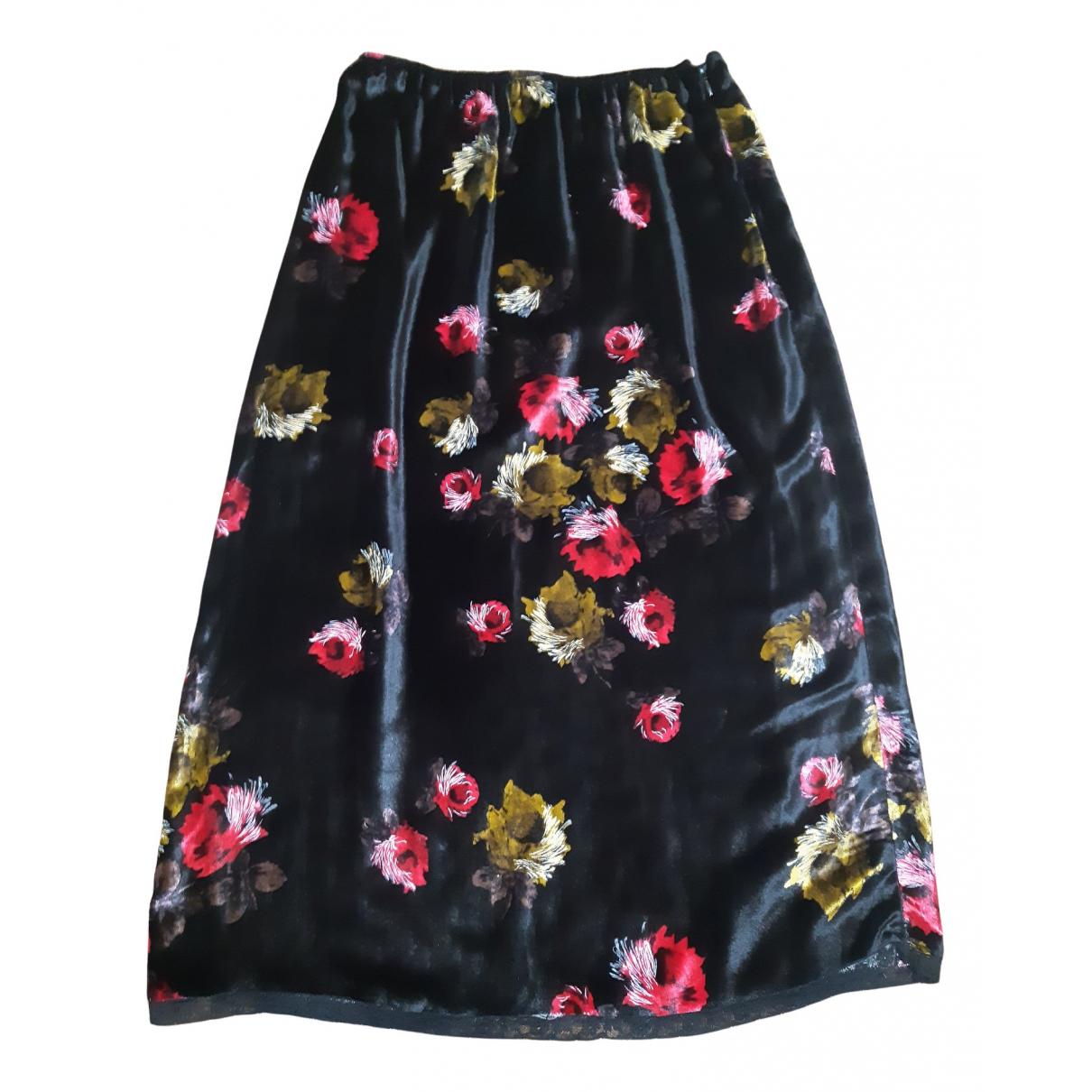 Prada N Black Velvet skirt for Women 38 IT