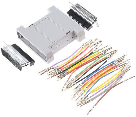 RS PRO 25 way D plug - D socket gender changer