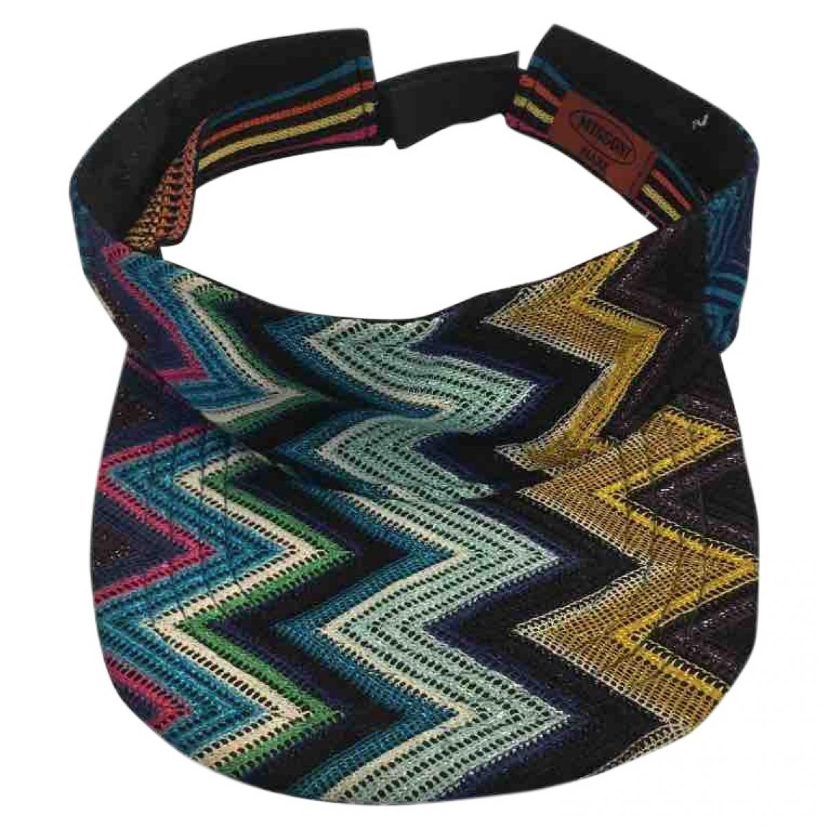 Missoni - Chapeau   pour femme en toile - multicolore