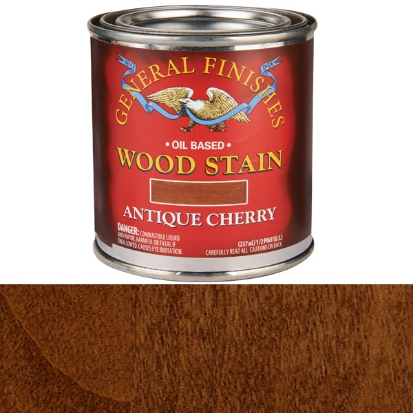 Antique Cherry Stain Solvent Based 1/2 Pint