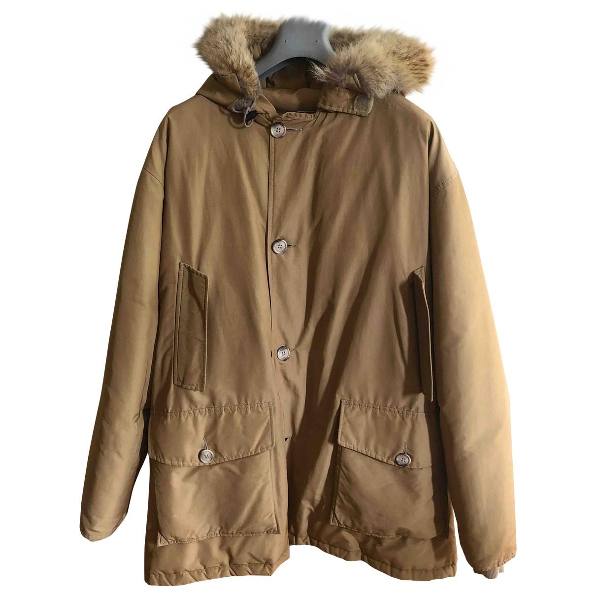 Woolrich \N Beige coat  for Men XL International