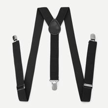 Men Plain Suspenders