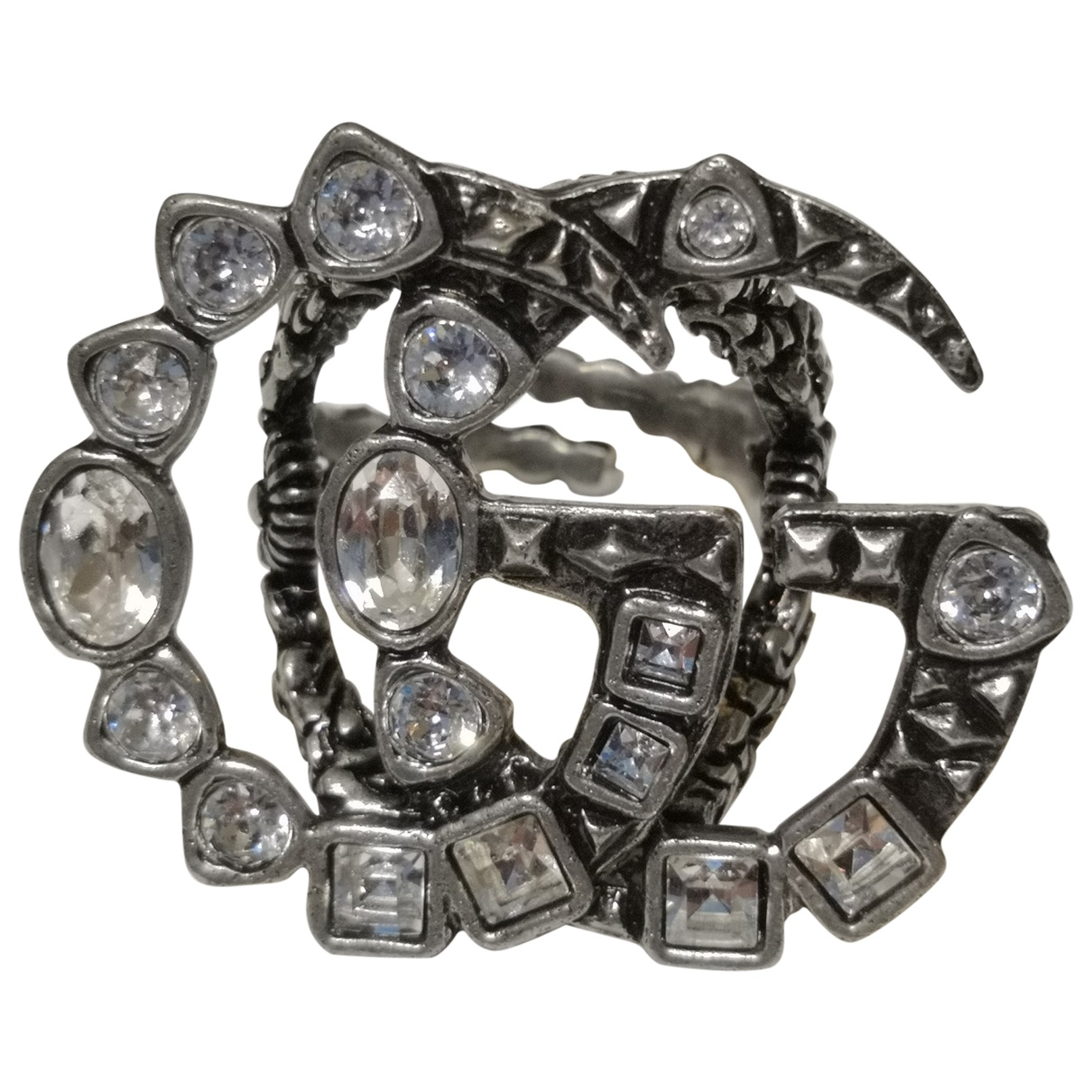 Gucci \N Ring in  Silber Metall