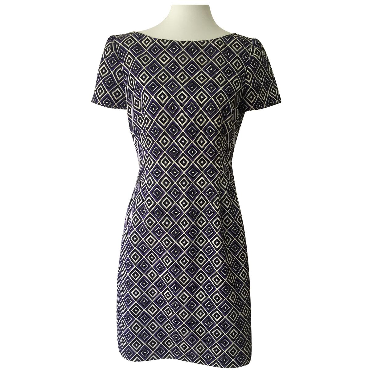 Prada \N Purple Cotton dress for Women 44 IT