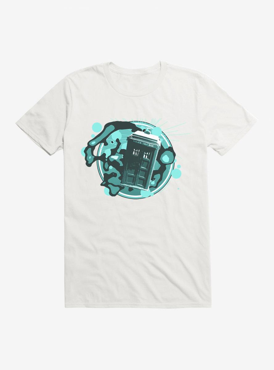 Doctor Who TARDIS Timey Wimey T-Shirt