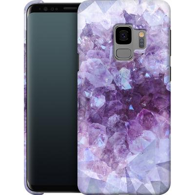 Samsung Galaxy S9 Smartphone Huelle - Light Crystals von Emanuela Carratoni