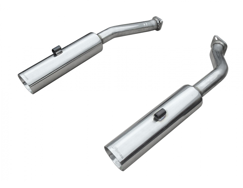 Pypes Exhaust SGP2005 Pype Bomb Series Axle Back Exhaust Delete all Polished Stainless Steel Pontiac GTO 2005-2006