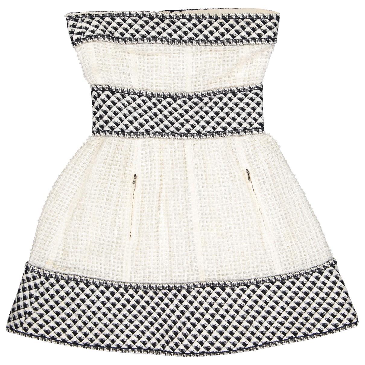 Chanel \N Kleid in  Weiss Synthetik