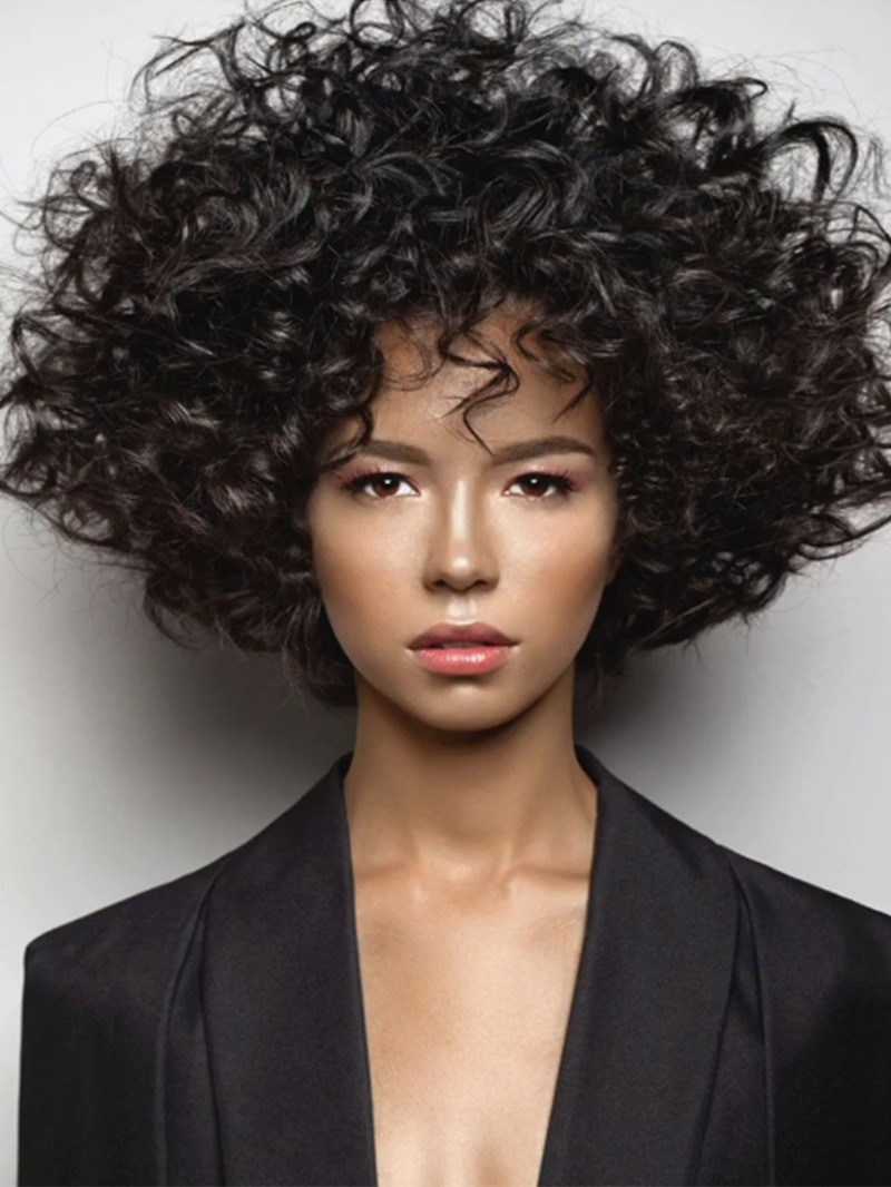 Ericdress Fashion Curly Hair Womens Big Curly Style Synthetic Hair Capless Wigs 12Inch