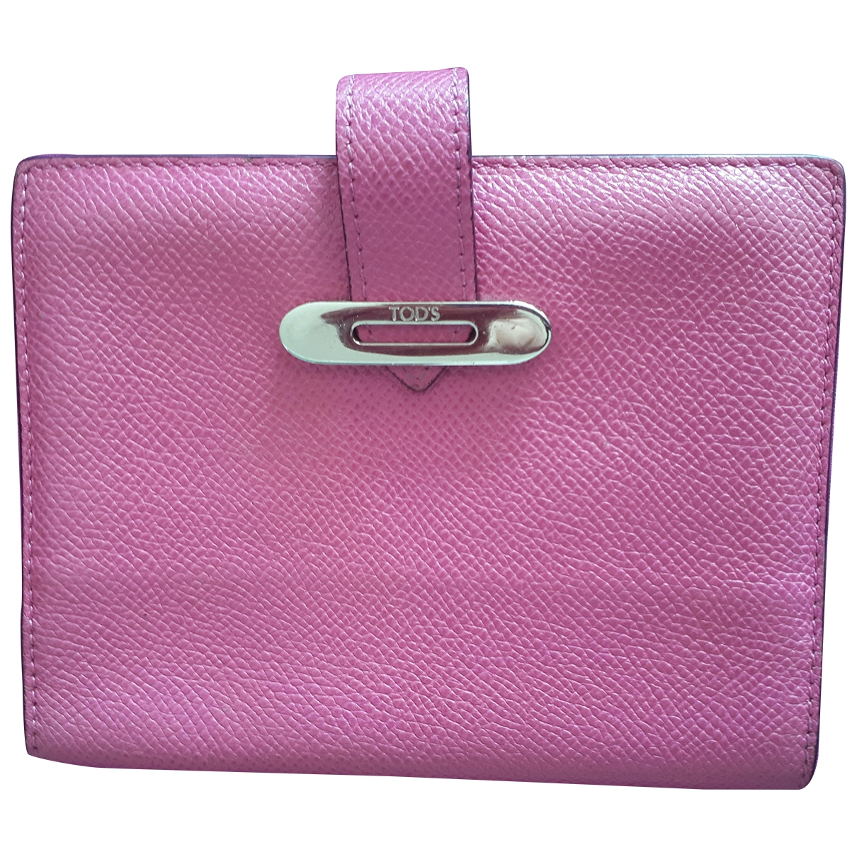 Tod's \N Pink Leather Purses, wallet & cases for Women \N