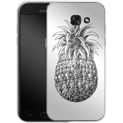 Samsung Galaxy A5 (2017) Silikon Handyhuelle - Ornate Pineapple von BIOWORKZ
