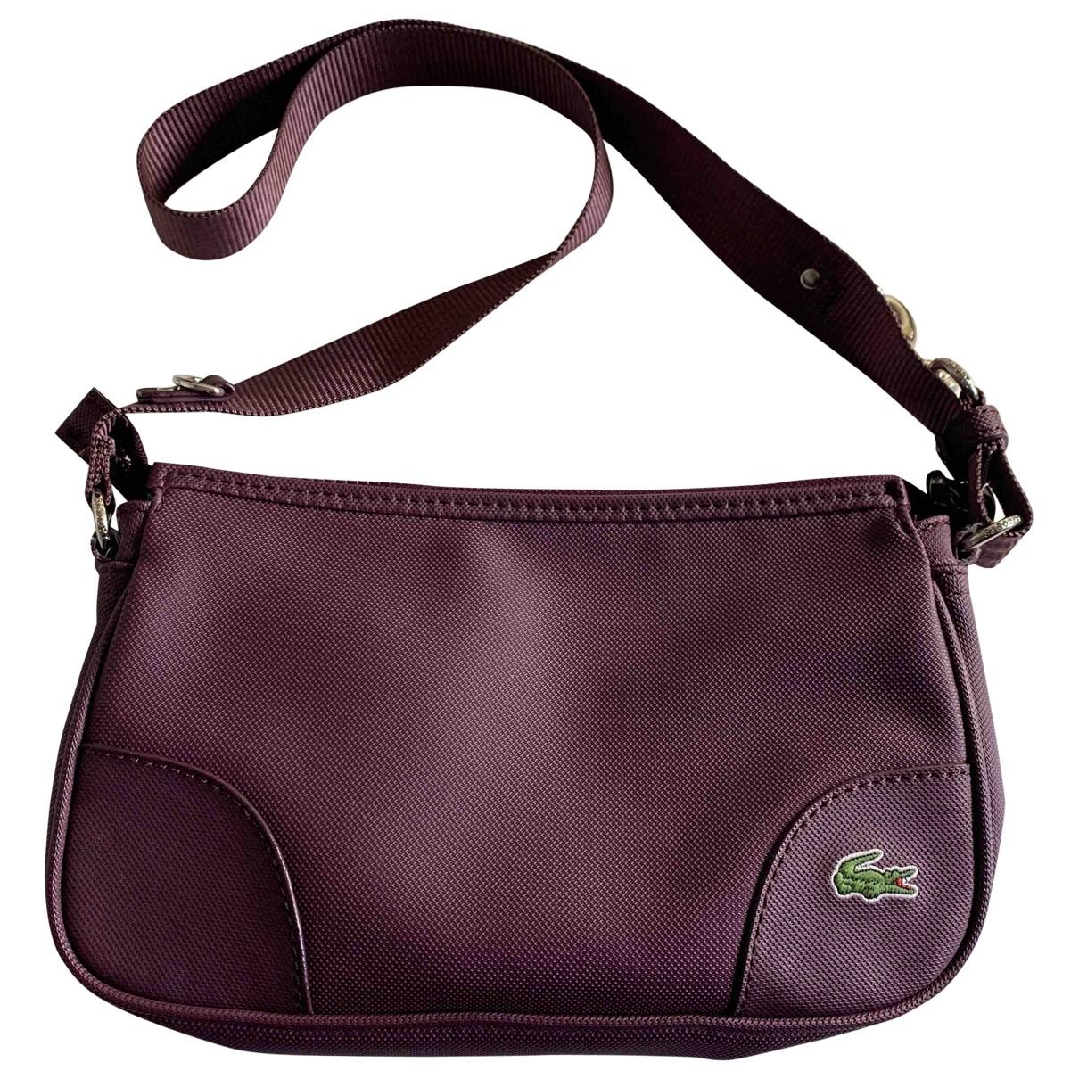 Lacoste - Sac a main   pour femme - violet