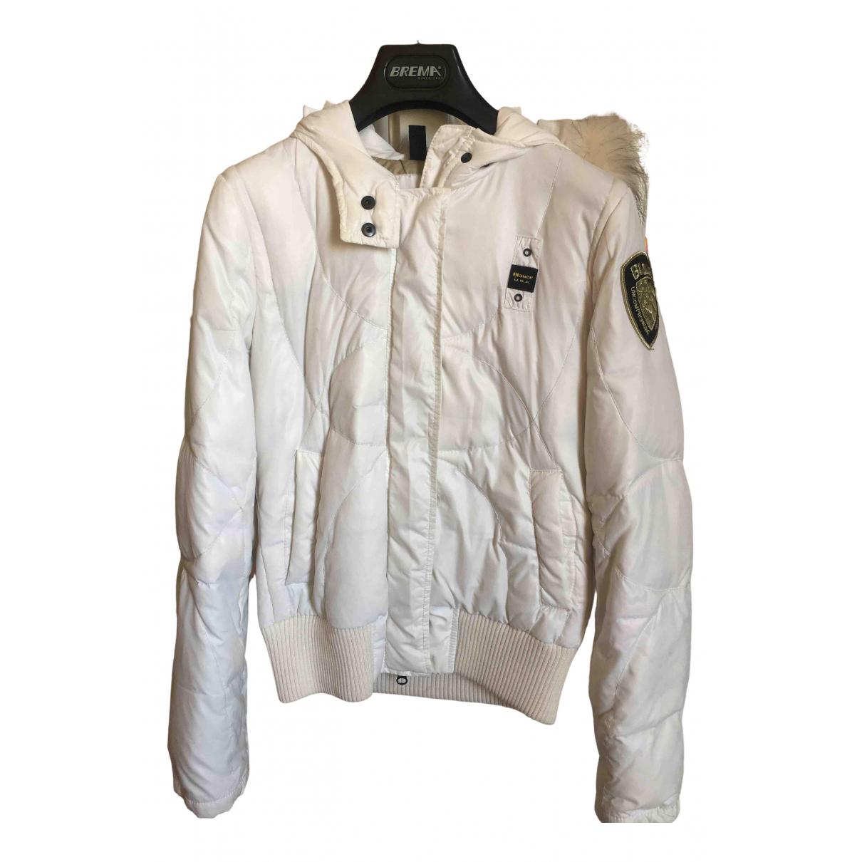 Blauer - Manteau   pour femme - blanc