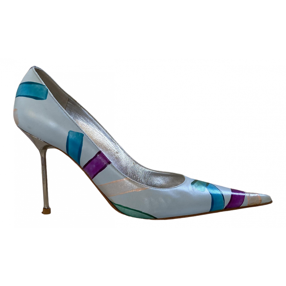 Gianmarco Lorenzi \N Pumps in  Bunt Leder