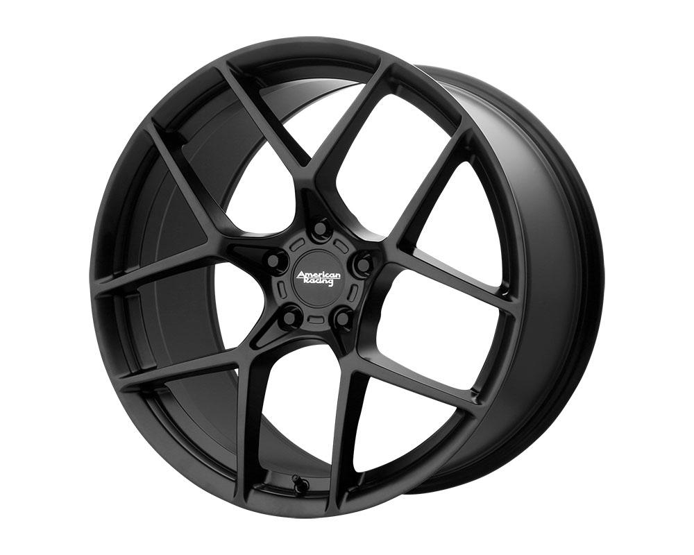 American Racing AR924 Crossfire Wheel 20x10.5 5x5x114.3 +45mm Satin Black