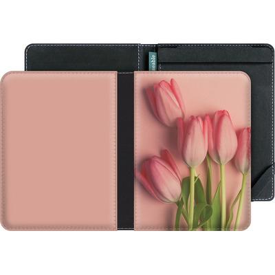 tolino vision 3 HD eBook Reader Huelle - Pink Tulips von Joy StClaire