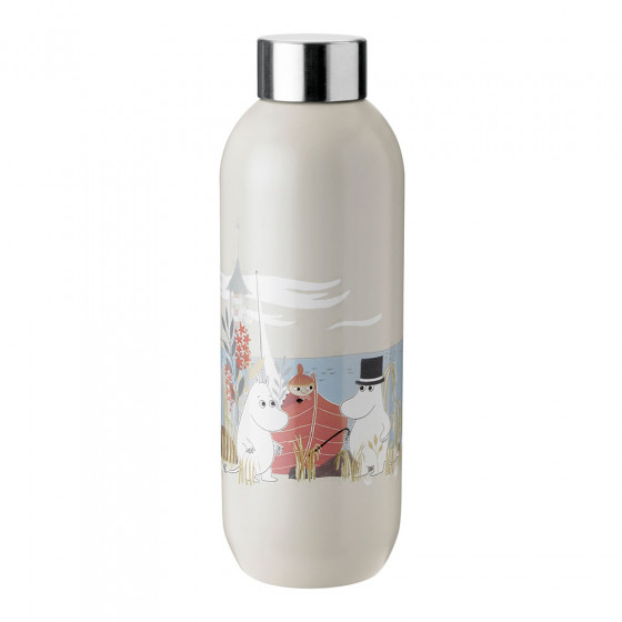 Thermo bottle Stelton Keep Cool Sand Moomin, 750 ml