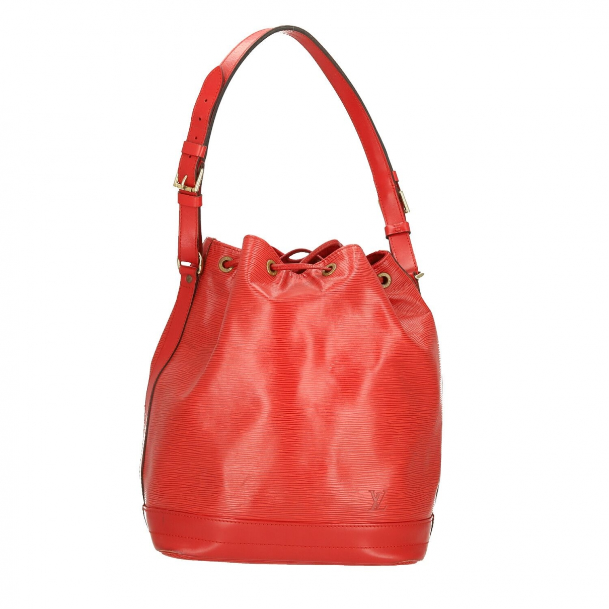 Louis Vuitton - Sac a main Noe pour femme en cuir - rouge
