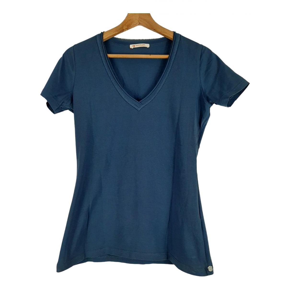 Hugo Boss - Top   pour femme en coton - bleu