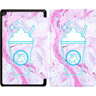Amazon Fire HD 8 (2018) Tablet Smart Case - Unicorn Frappuccino von caseable Designs
