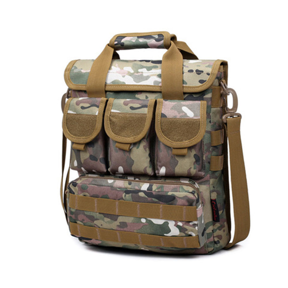 Unisex One-Shoulder Mountaineering Bags Tactical Fashion Outdoor Sports Bag Hiking Bag Fishing Travel Photography Backpack