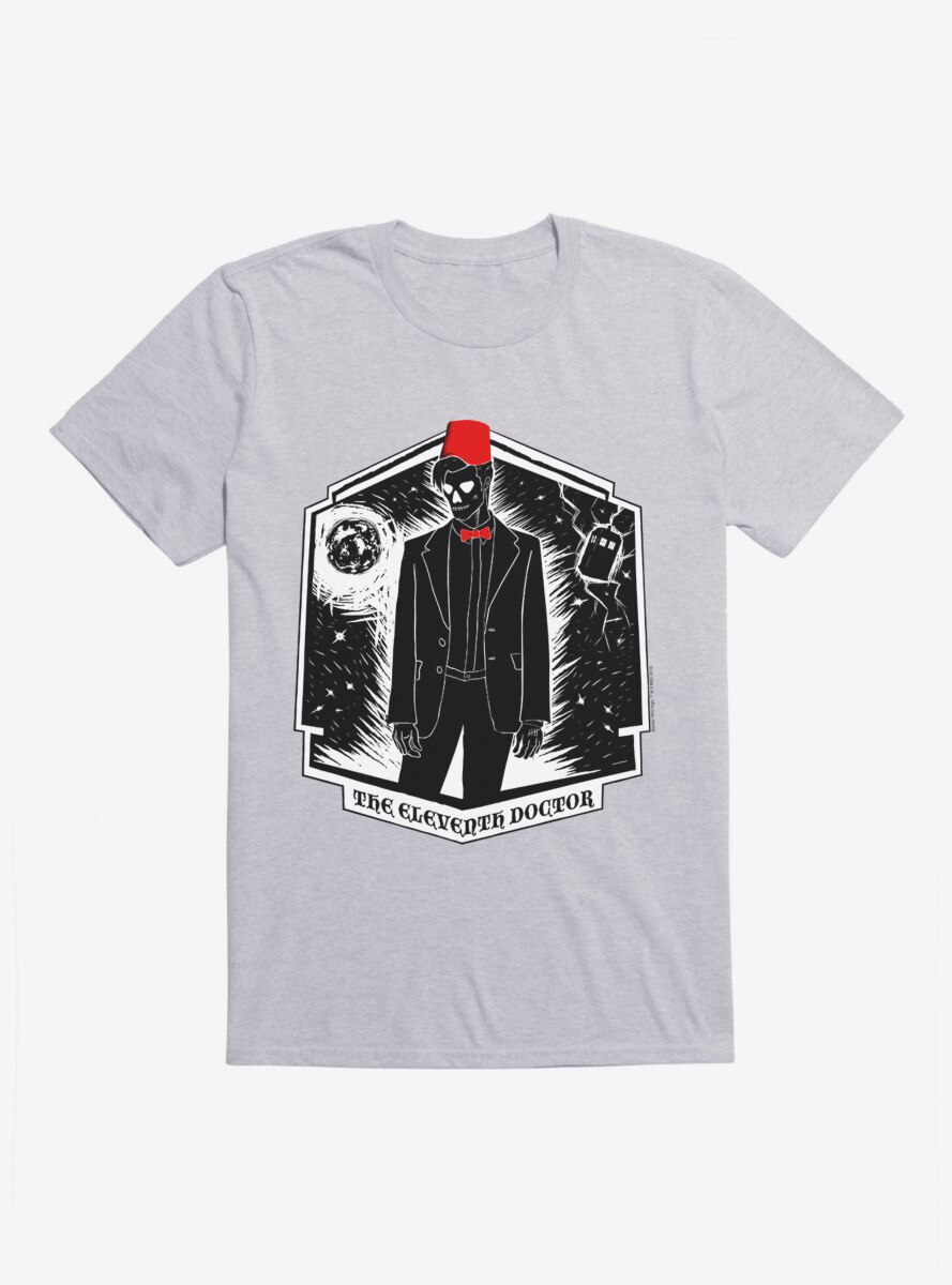 Doctor Who The Eleventh Doctor Fezzes Are Cool T-Shirt