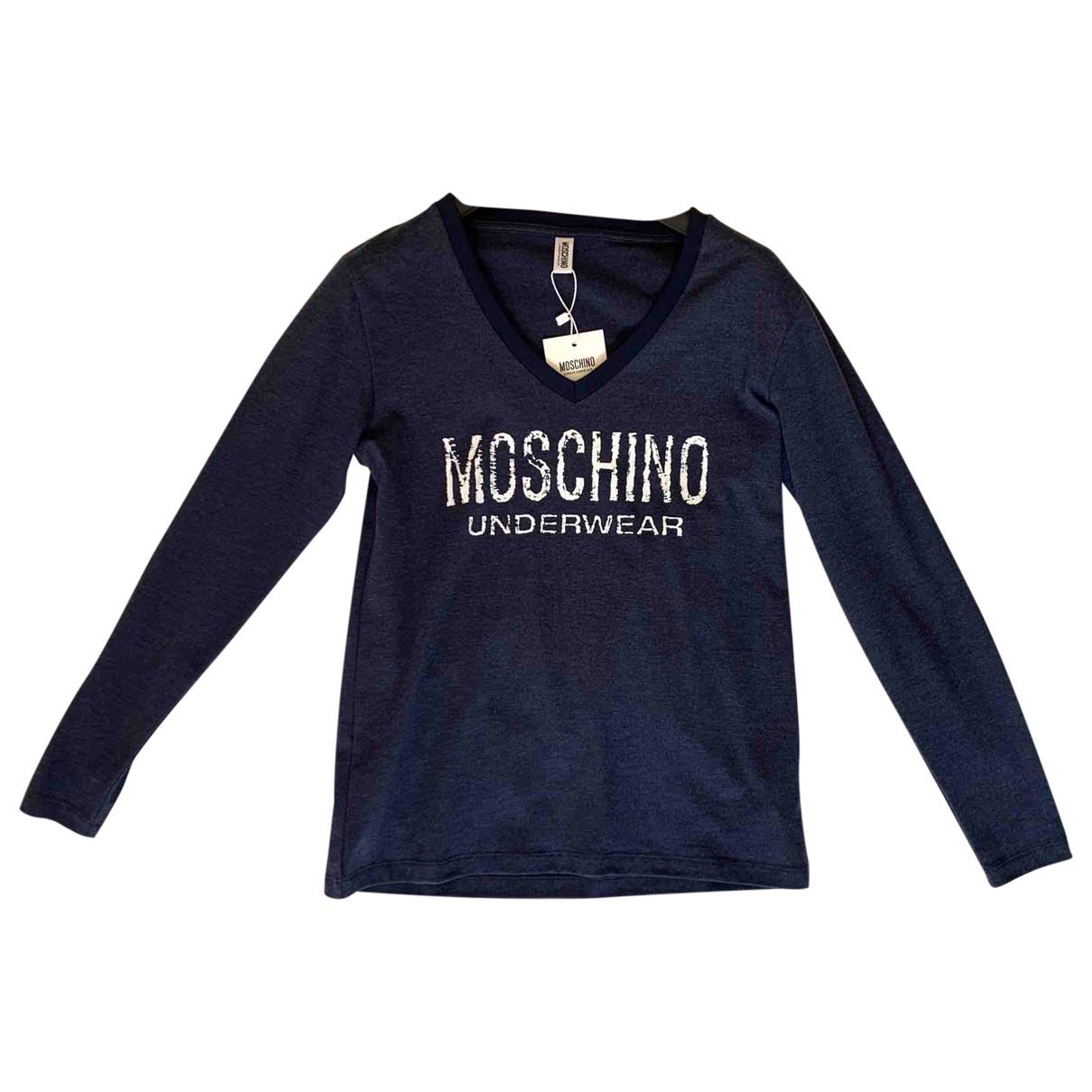 Moschino \N Blue Cotton  top for Women S International