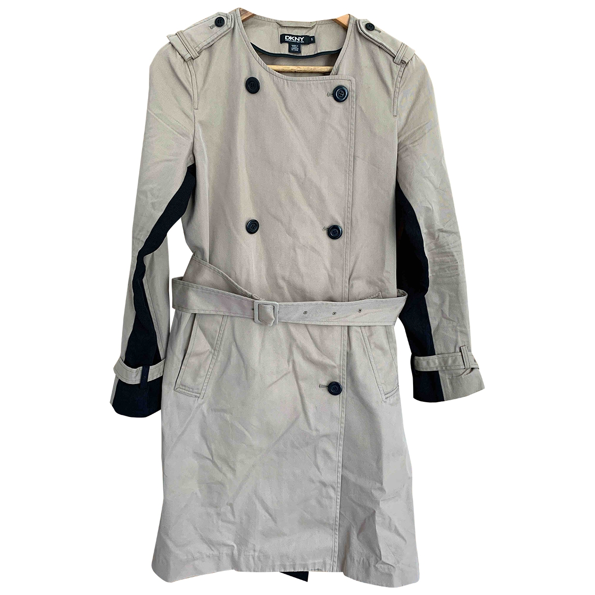 Dkny \N Camel Cotton Trench coat for Women S International