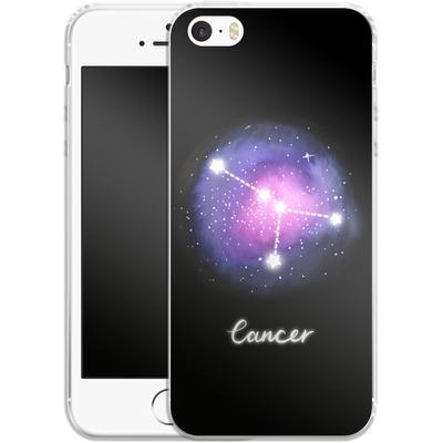 Apple iPhone 5s Silikon Handyhuelle - CANCER von Becky Starsmore