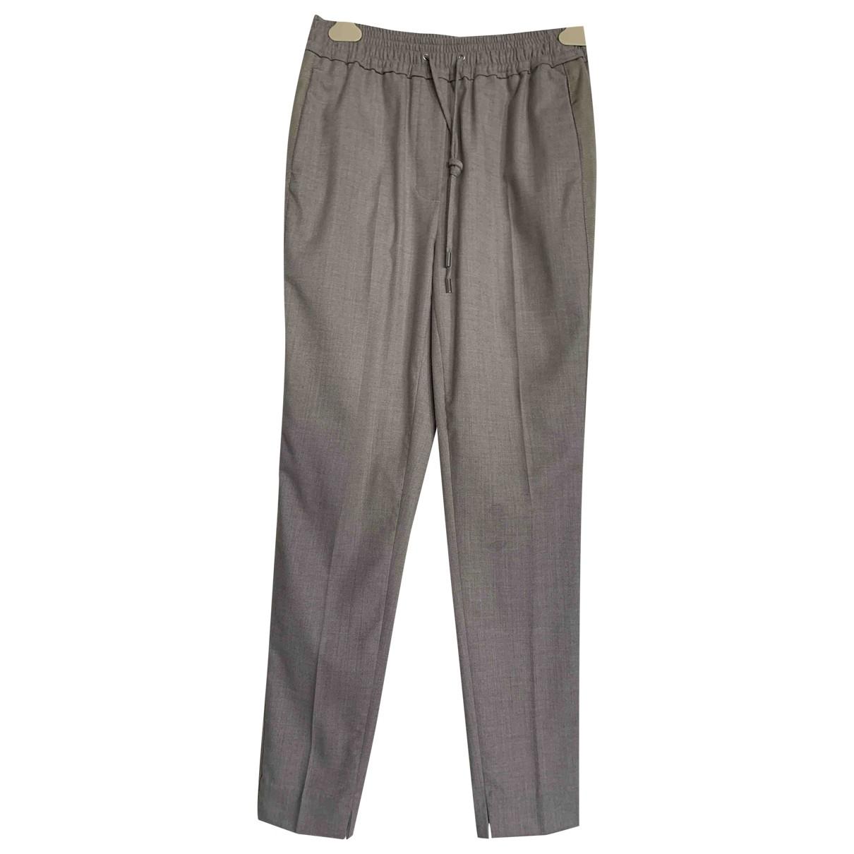 3.1 Phillip Lim \N Beige Wool Trousers for Women 4 US