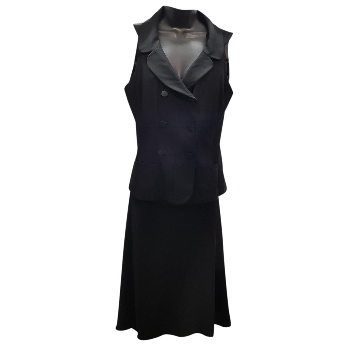 Chanel N Black Wool dress for Women 38 FR